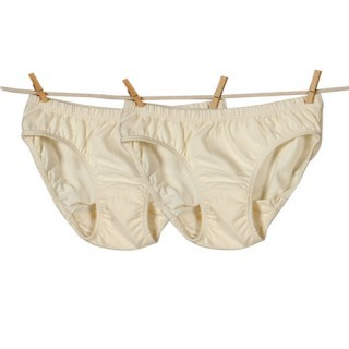 Ecoland: Toddler girls organic cotton hipster panty 2 pack